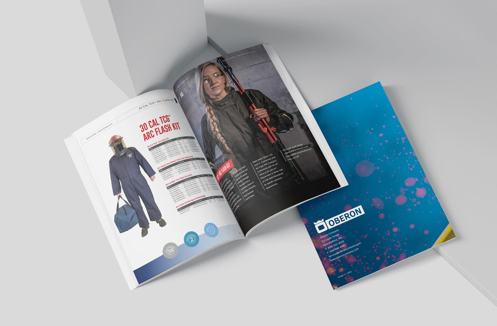 safety gear catalog - print design finn & gray