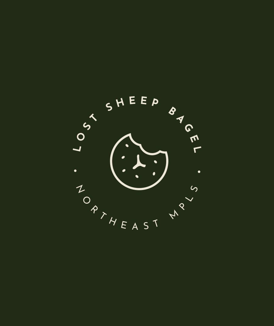 logo for coffee bagel shop