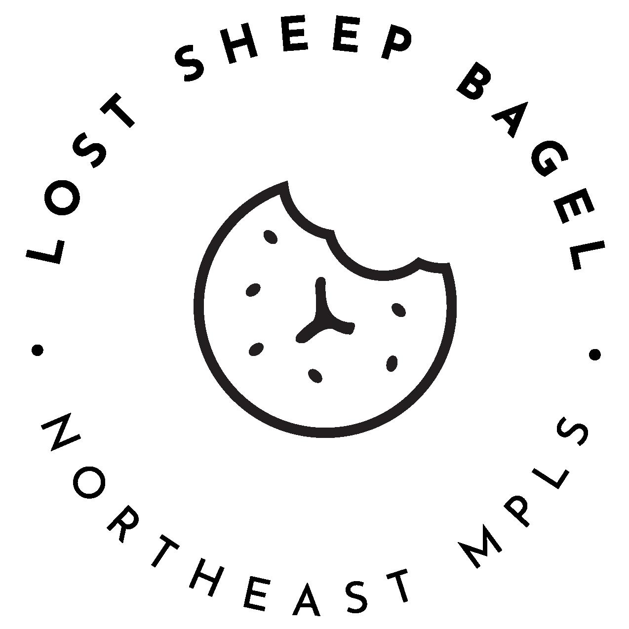 lost sheep bagel logo