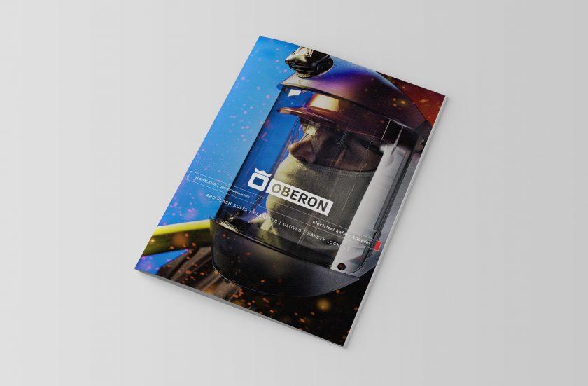 oberon catalog - catalog design mockup
