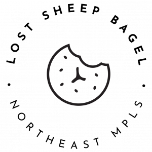 lost sheep bagel logo
